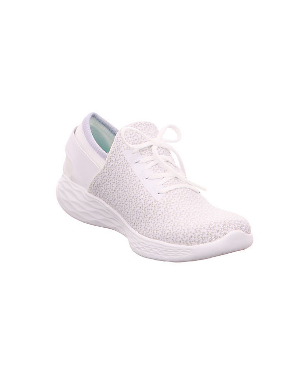 SKECHERS, You Inspire Sneakers Textil 14950WHT Sneakers Inspire Low, weiß 18164e