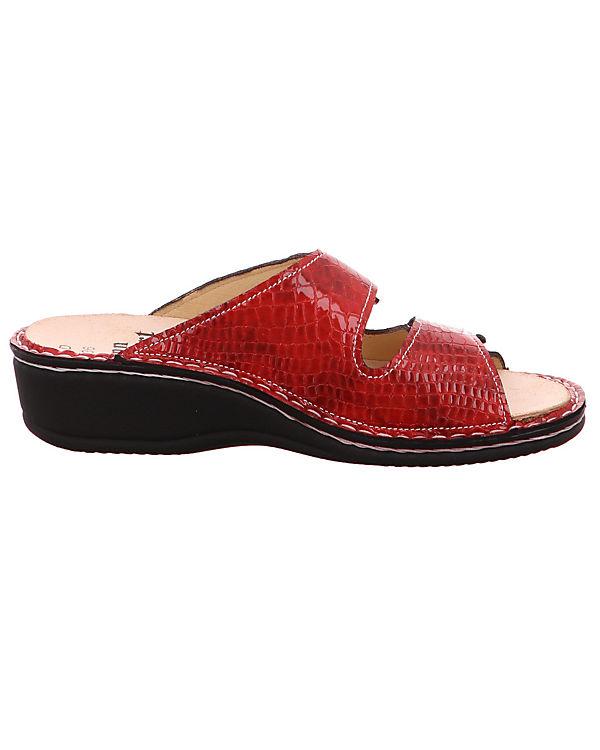 Komfort Pantoletten 2519 rot Jamaika kombi Finn Comfort 018063 wOIO1R