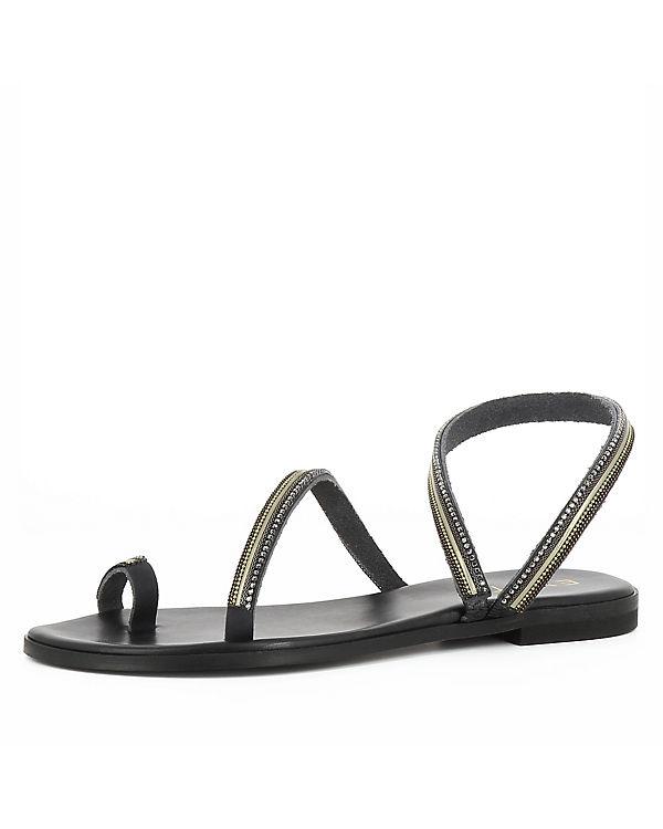 Evita schwarz Shoes OLIMPIA Sandalen Klassische qwvrRgq