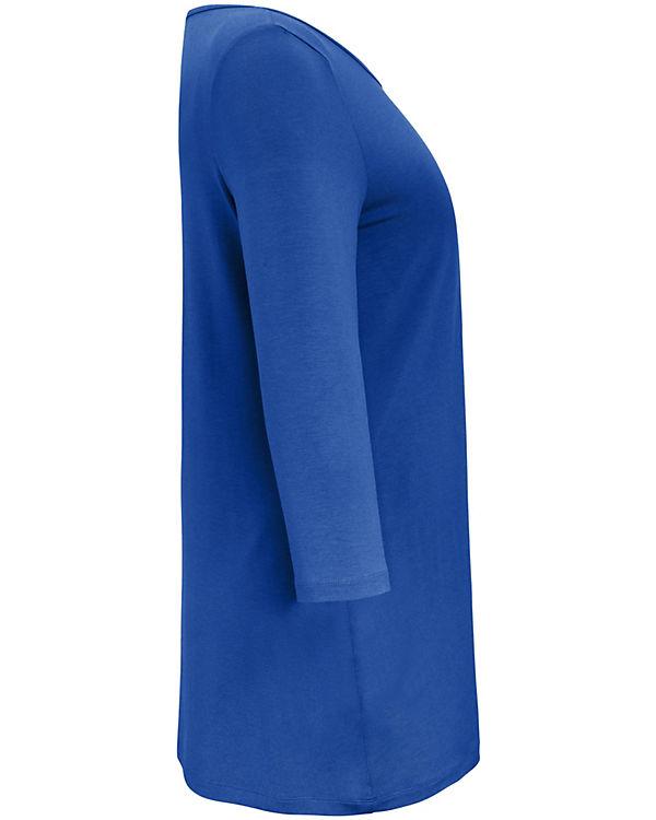 blau Shirt ANNA 4 AURA 3 Arm XxYfFX