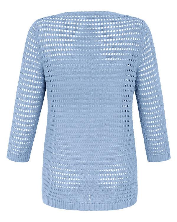Pullover Pullover ANNA AURA AURA blau AURA ANNA ANNA blau TxEBH1q