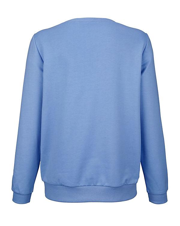 blau Dress In Langarmshirt In Langarmshirt Langarmshirt Dress blau blau In Dress AdZqA