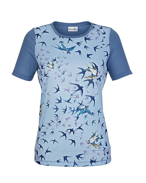 Dress 3 Armshirt In 4 blau Or7POwq