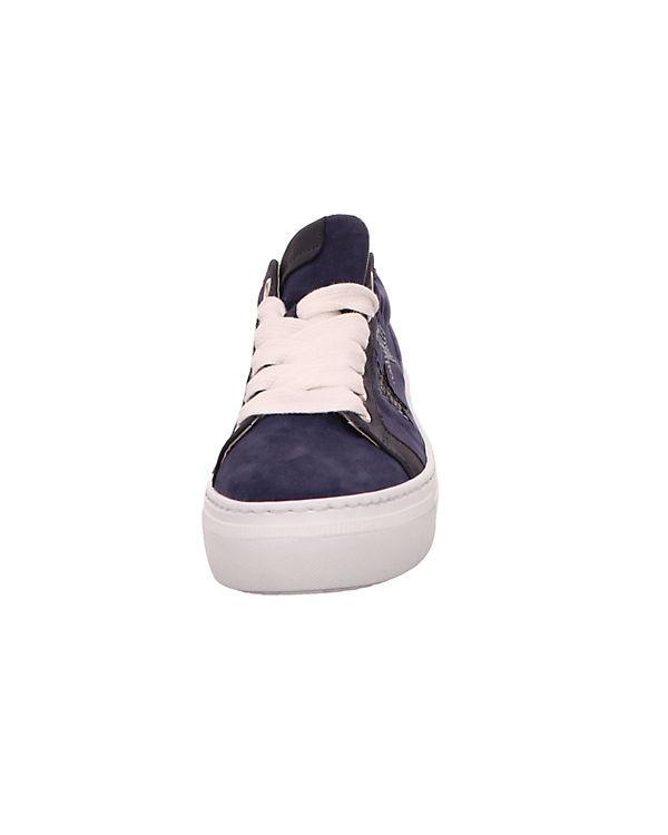 Sneakers Low Sneakers blau Gabor Gabor Gabor Low blau FBwq46nZ