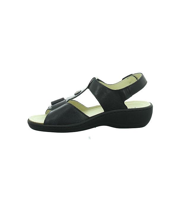 Komfort Longo Longo Komfort Sandalen schwarz 4EqHzxRx