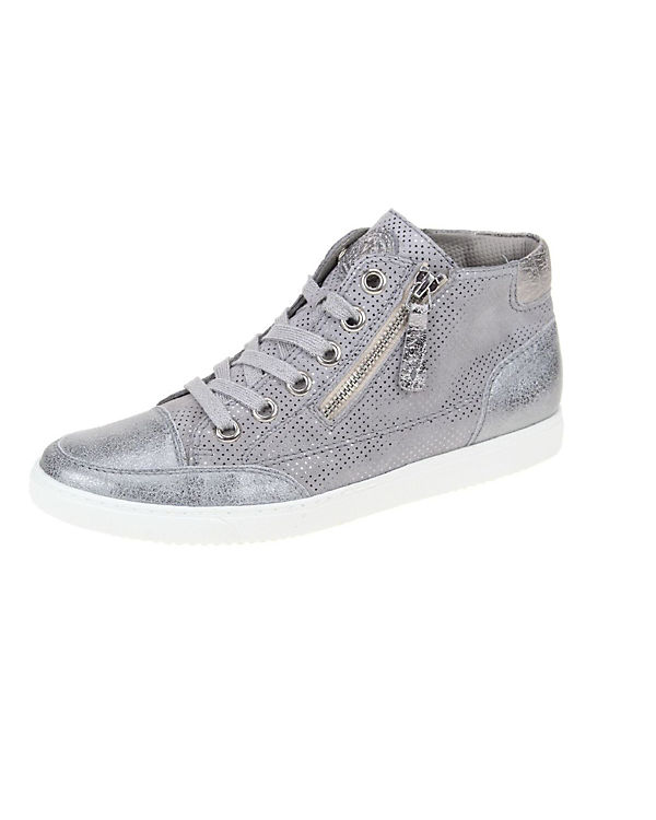 Green Sneakers High grau Sneakers Paul Green Paul High xqIYAX0