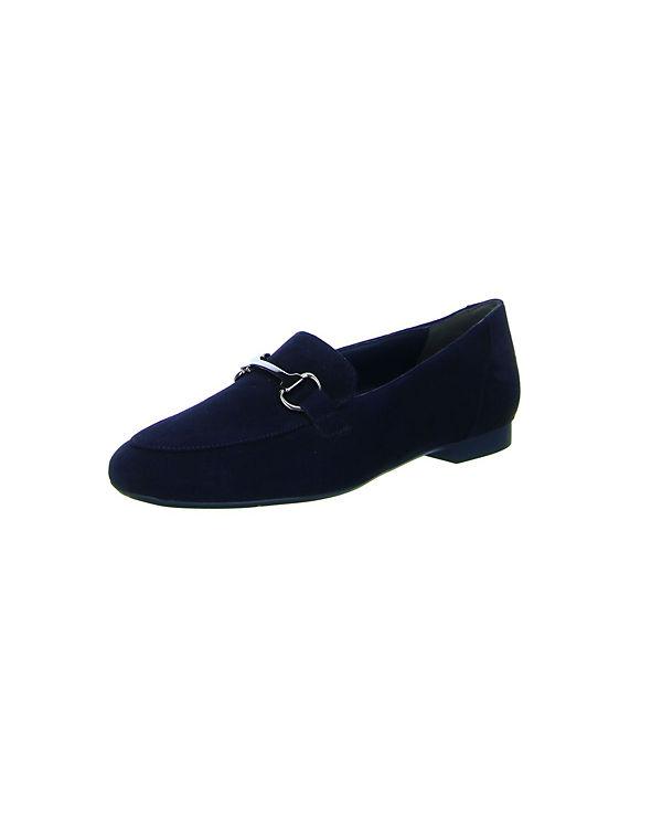 Paul Green Klassische Slipper blau