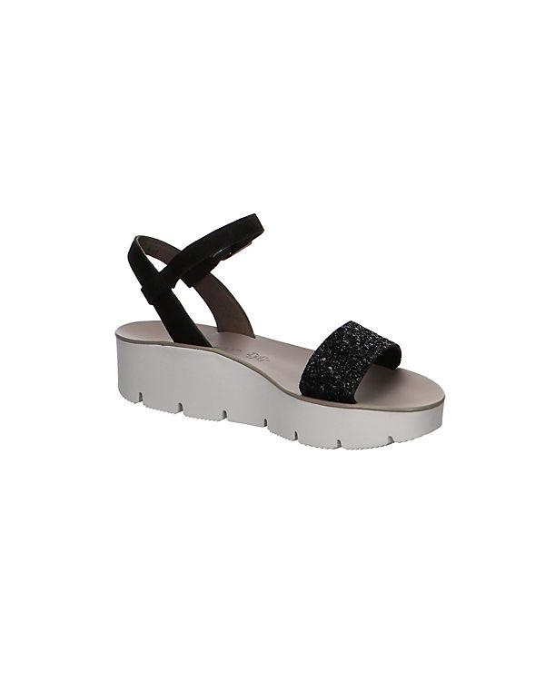 Beliebt Paul Green Plateau-Sandaletten schwarz Billig Verkauf Amazon kRV6U