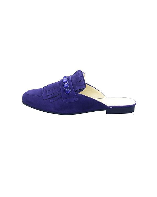 Aus Deutschland Freies Verschiffen Neue Ankunft Gabor Pantoletten blau Kaufen Online-Verkauf Gute Qualität Billig Bequem FOAff