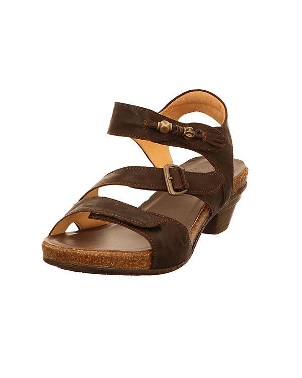 Think! Klassische Sandaletten braun