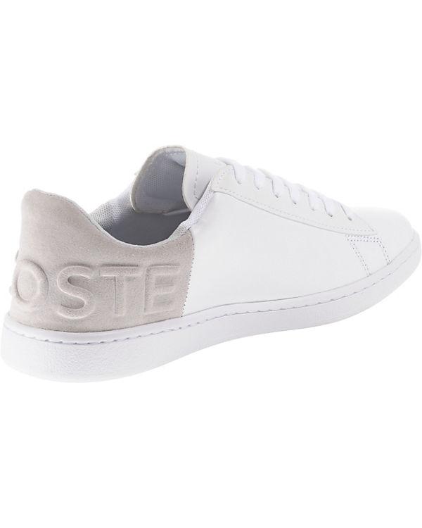 Sneakers Low Evo LACOSTE weiß Carnaby ZwExRz