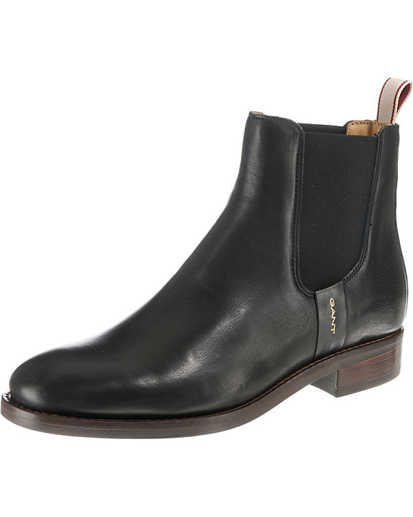 Fay GANT Boots schwarz Chelsea GANT Fay Chelsea Boots schwarz qfXpfwT