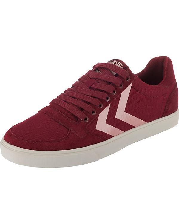hummel, Slimmer Stadil Sneakers Low, Low, Sneakers rot 24d347