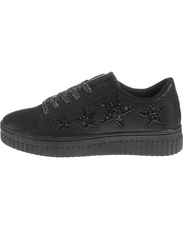 Preußen Sneakers Selma Low schwarz aus Fritzi 507wFF
