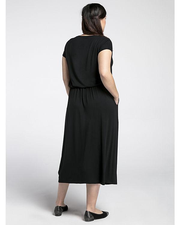 schwarz Jerseykleid Wersimi Jerseykleid Wersimi schwarz Jerseykleid Wersimi schwarz z0FqOa