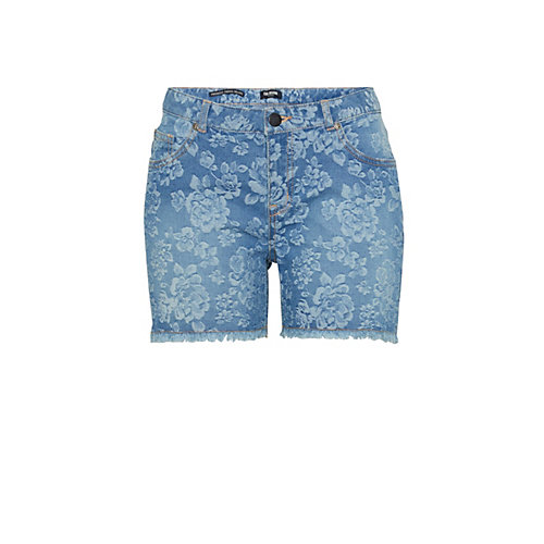 COLORADO DENIM Shorts blau Damen Gr. 28