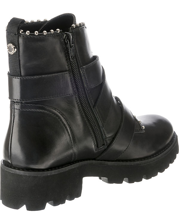 STEVE MADDEN, Hoofy Biker Biker Hoofy Boots, schwarz bd047a