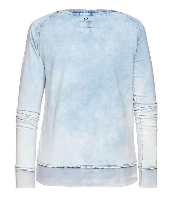 blau Khujo Khujo blau Sweatshirt Sweatshirt Khujo Sweatshirt S7H4wqq