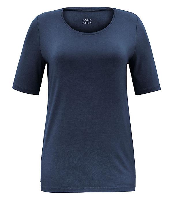 blau AURA ANNA T ANNA blau AURA Shirt AURA blau T ANNA Shirt ANNA Shirt T 1xw4Cq8H