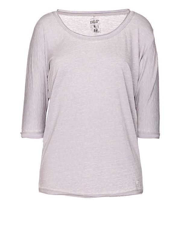 Shirt Khujo Shirt grau grau T T T Khujo Khujo Shirt C1Oqaq
