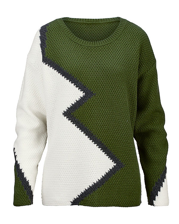 Laura Kent Pullover grün