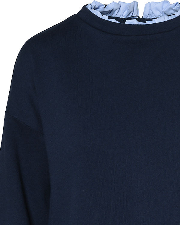 TAILOR TOM dunkelblau Denim Pullover TOM Pullover TAILOR TAILOR Denim dunkelblau Denim TOM qSHga