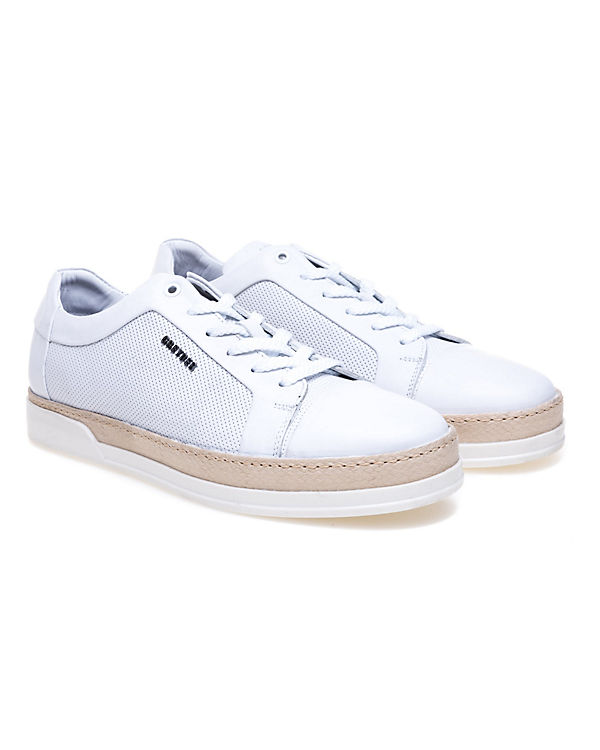 Basic GREYDER weiß Modischer Sneaker Perforierung mit Greyder feiner SqpPw6Px