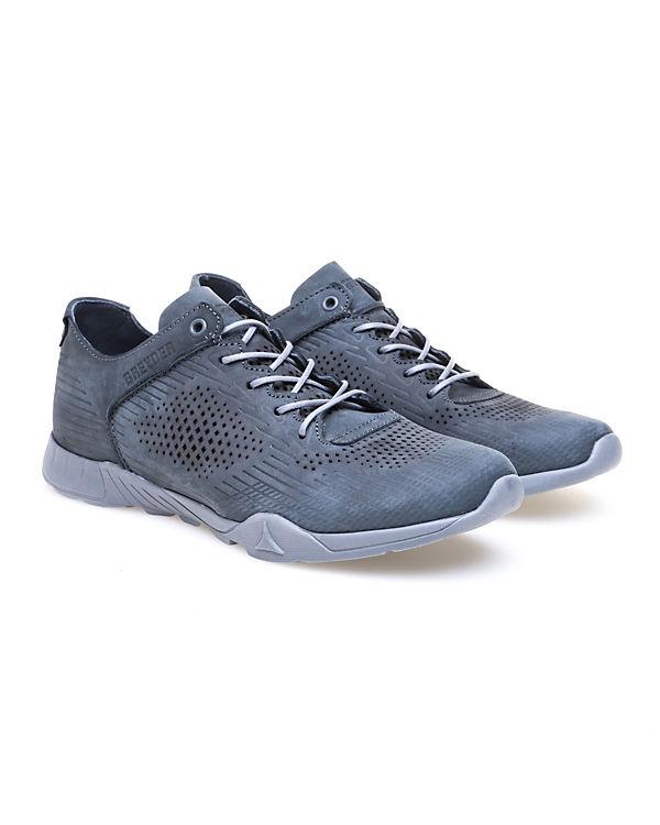 Greyder, GREYDER grau Modischer Sneaker mit Musterprägung, grau GREYDER d01ab5