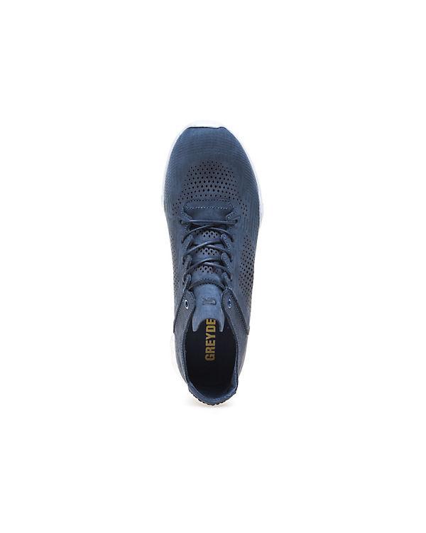 Modischer Greyder blau Sneaker mit Musterprägung GREYDER U1HxR1wqg