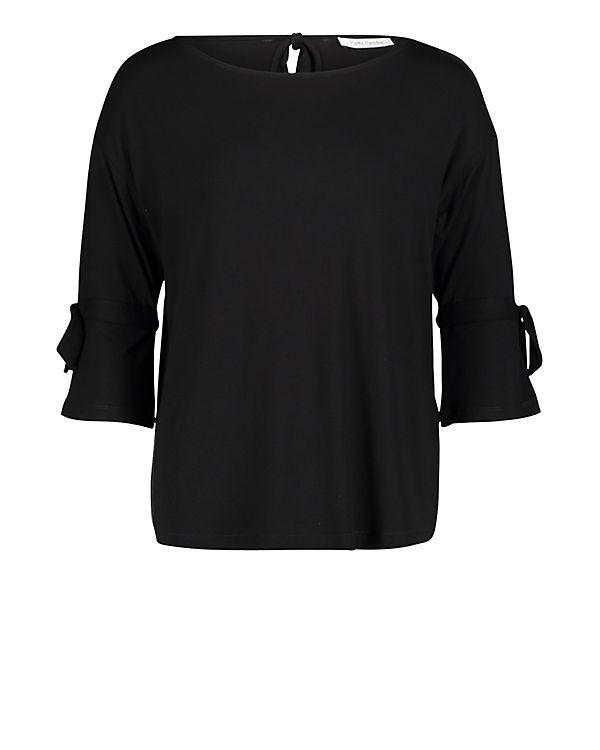 mit Betty Barclay Schleifenknoten Shirt schwarz Casual rtFSqtxO