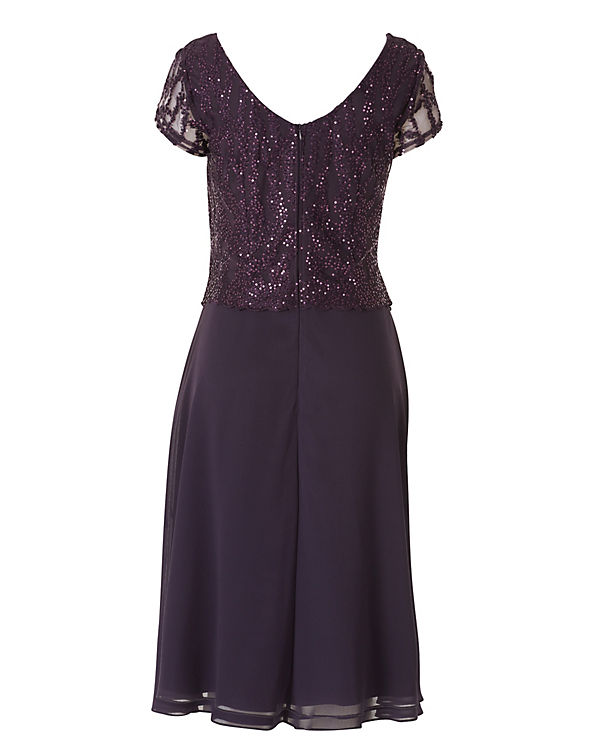 08be6bd5e58d Vera Mont, Cocktailkleid mit Strass, lila   ambellis