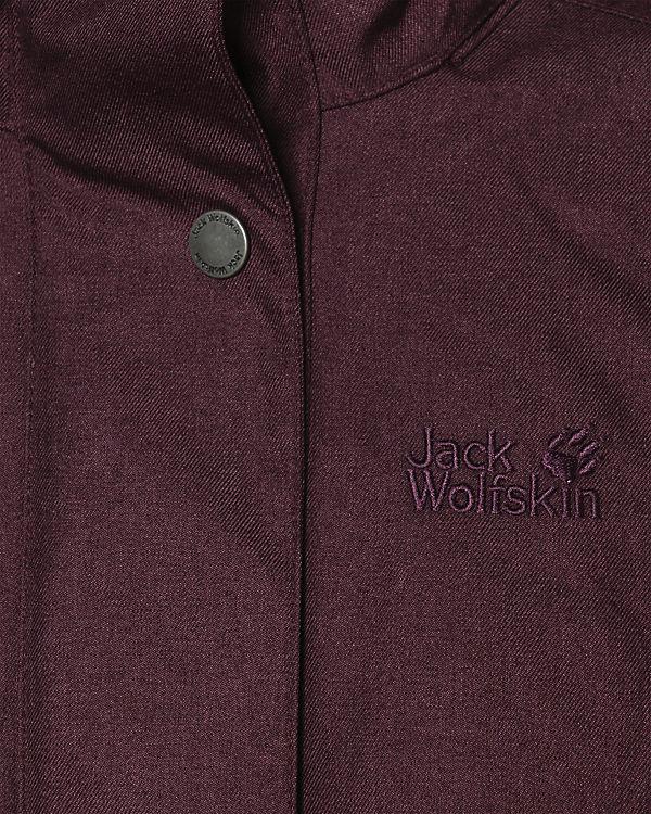 Park Wolfskin Jack Avenue Winterjacke pflaume Xn1wx6v