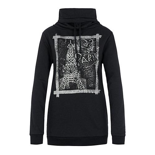 Million X Women Sweatshirts schwarz Damen Gr. 46