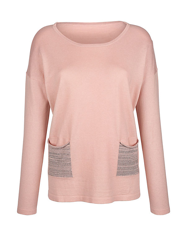 Amy Vermont Pullover rosa