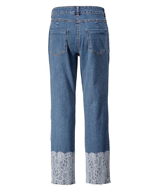 Style Jeanshosen beige kombi of Angel 01FwqXw