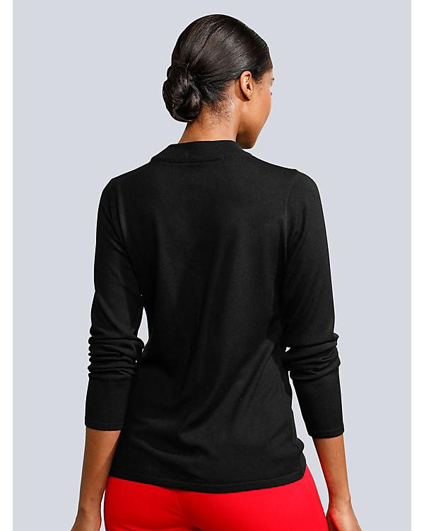 Moda Alba Pullover Moda Pullover schwarz Moda Alba schwarz Pullover Alba WT06g