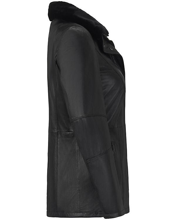 Lederjacke AURA aus schwarz ANNA LammnappaLederjacken XHwp5q