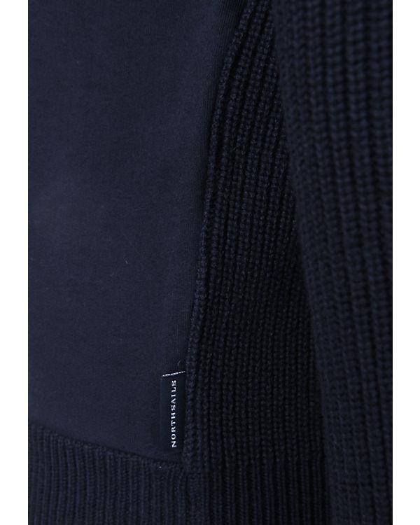 North LOGOSweatshirts dunkelblau ROUND Sails NECK Strickpullover 8rqSOwa8