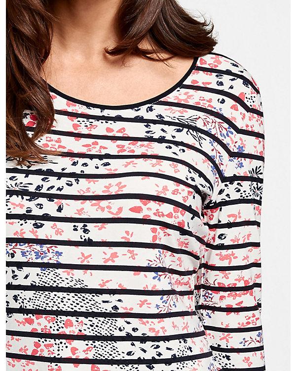 Arm MixT blau 4 Weber mit Blumen Streifen Arm 1 2 Shirts T Shirt 3 Gerry Shirt OZ8Z0