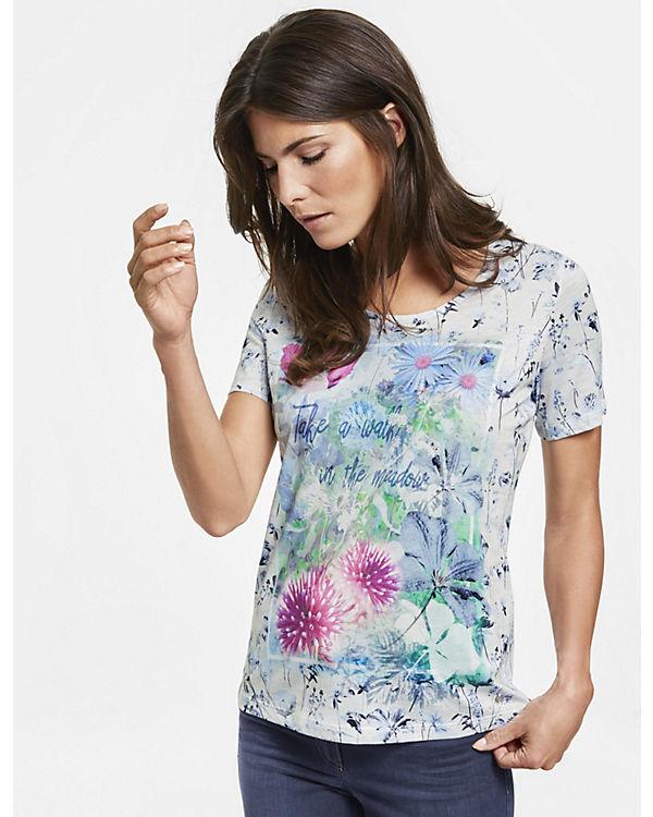 FlowerprintT mit 2 1 Shirt Shirt rosa Shirts T Arm Weber Gerry RIWq8w0n