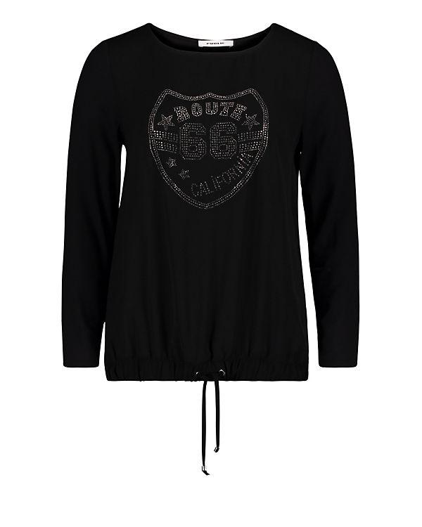 Public Applikation mit schwarz Shirt Casual twxUq7rnt