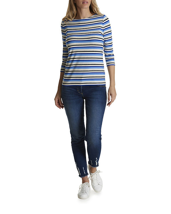 Betty Arm Shirt mit Basic 3 Barclay 4 blau xYazwrYA