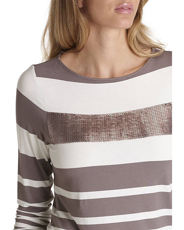 Betty Streifenshirt beige Barclay kombi mit Streifen FrxFq5AT
