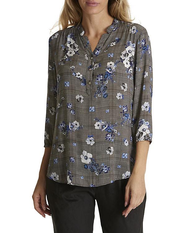 Muster schwarz Blüten Betty mit Bluse Barclay IWwv1
