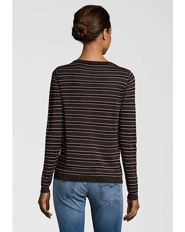 Pullover glitzerndem mit Soda Garn Sweatshirts amp; Scotch schwarz Ew7Bgnq