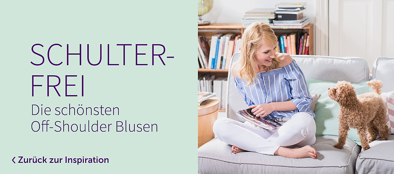 Off-Shoulder-Blusen